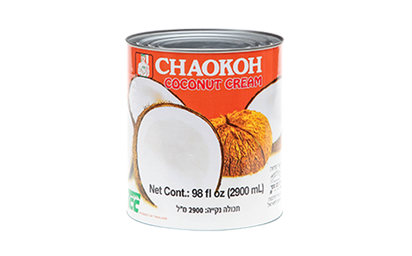 Canned coconut Cream 17%