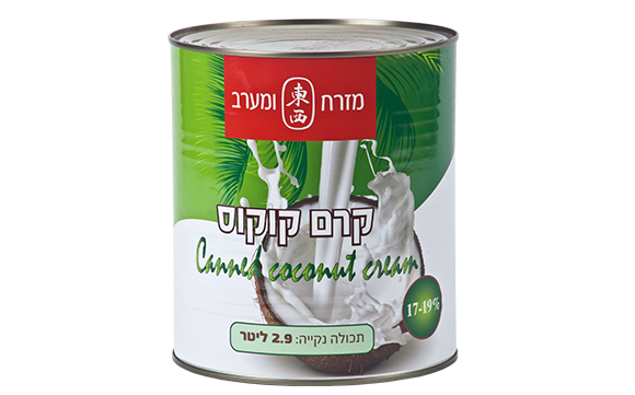 Canned coconut Cream 17-19%