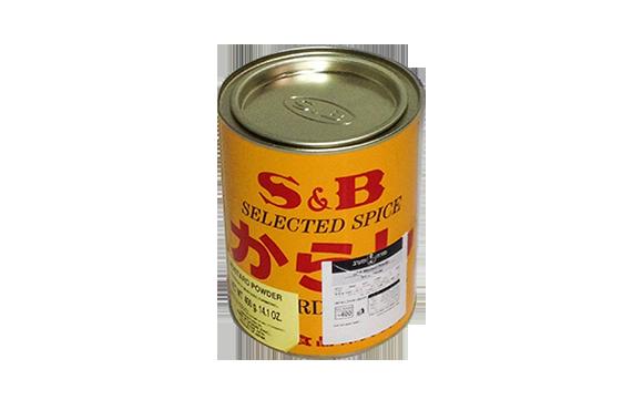 אבקת חרדל יפנית 400 גרם S&B