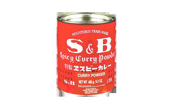 אבקת קארי יפני 400 גרם S&B
