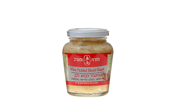 White Pickled Ginger with NO MSG