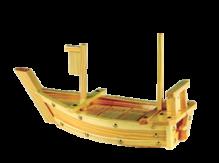 סירת עץ להגשת סושי 40 ס'מ