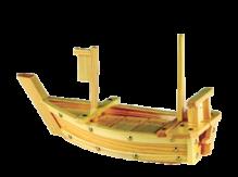 Wood Boat 60cm