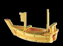 סירת עץ להגשת סושי 90 ס'מ