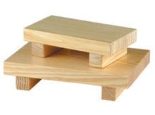 מגש עץ לסושי קטן 11.5X20.5 -ס'מ