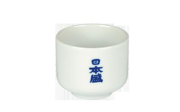 כוס סאקה מפורצלן (לבן)