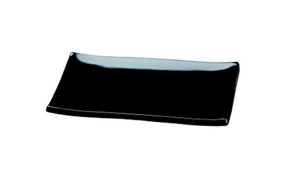 צלחת מלמין לסושי – שחור 134