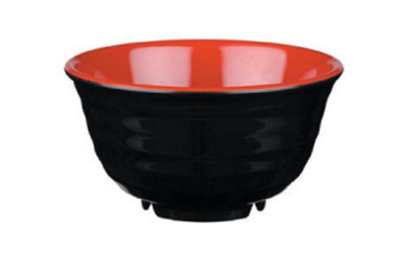 קערת מלמין – שחור אדום 9108