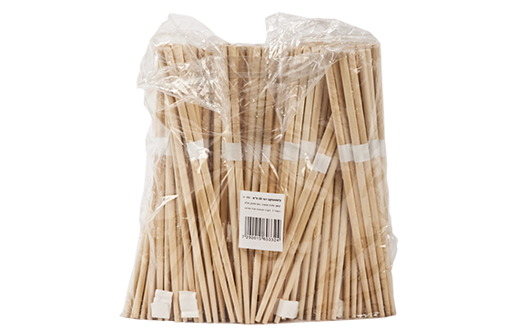 Bamboo craft chopstick (white cover)square