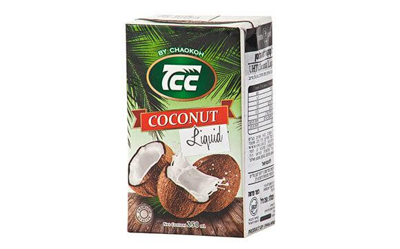 קרם קוקוס 17-19% , ללא גלוטן TCC
