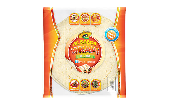 WRAPS ORIGINAL EL SABOR