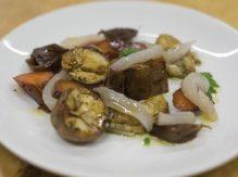פילה דג לבן עם ירקות ברוטב סויה