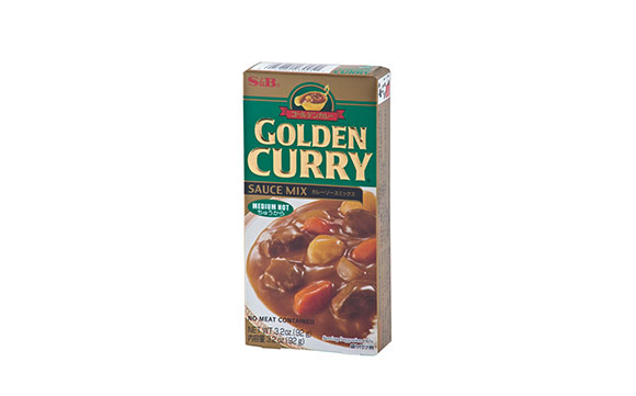 S&B EX GOLDEN CURRY MEDIUM HOT 92 gr*12*2/ctn