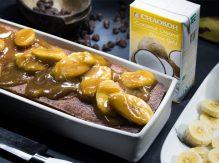 עוגת בננות וקוקוס עם שוקולד צ'יפס
