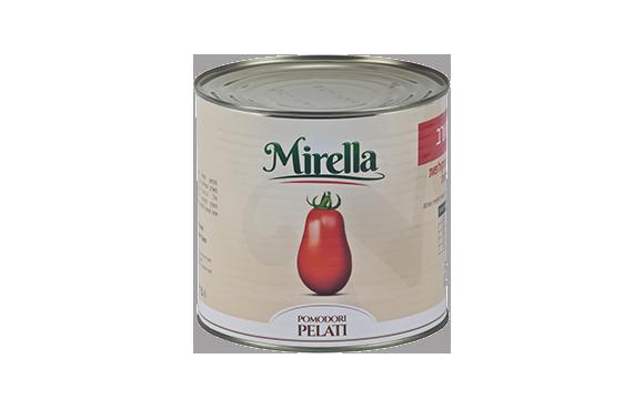 Mirella Whole peeled tomatoes 2,5 kg. O/T