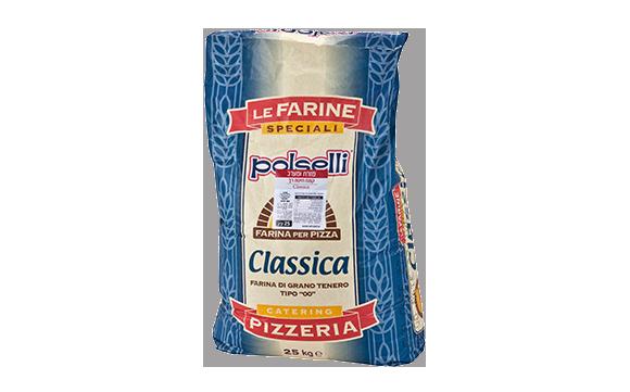 """קמח חיטה רך 25 ק""""ג CLASSICA – פיצה 00- ת.בינונית"""
