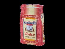 """קמח חיטה רך 25 ק""""ג VIVACE – פיצה 00 לתפיחה ארוכה"""