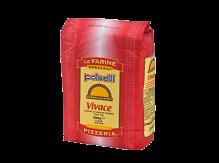 """קמח חיטה רך 5 ק""""ג VIVACE – פיצה 00 לתפיחה ארוכה"""