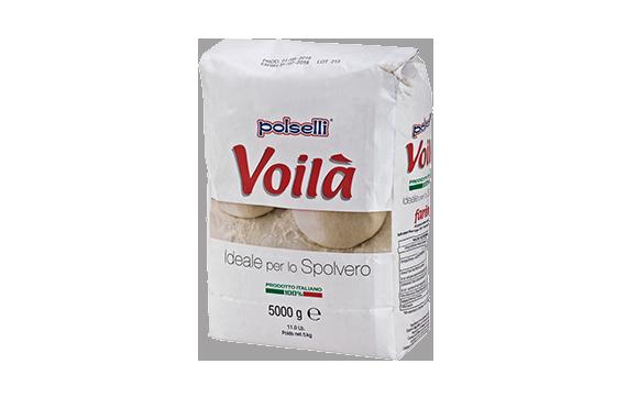 """קמח חיטה רך 5 ק""""ג VOILA – לקימוח בצק הפיצה"""