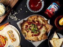 נאצ'וס ביתיים עם ספייסי טונה, גבינה וסלסה