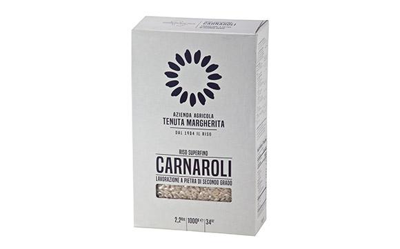 Risotto Carnaroli rice 1 kg *12/ctn