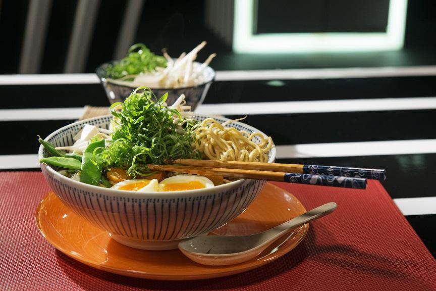 מרק ראמן ממש כמו ביפן