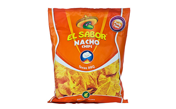 NACHO CHIPS BARBEQUE 225 g* 10 units / ctn