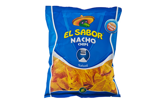 NACHO CHIPS SALTED 100 g* 16 units / ctn