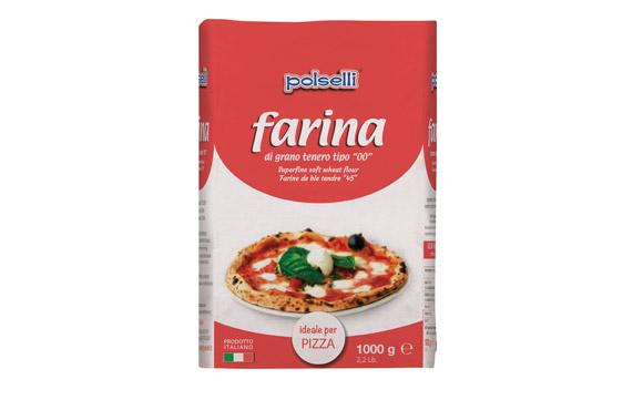 Farina per pizza 1kg (IDEALE)*10/ctn