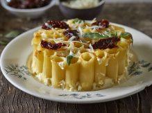 פאי אישי מפסטה ריגטוני עם גבינות