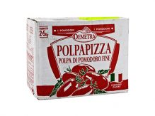 "POLPAPIZZA""Crushed Tomatoes 2*5KG"