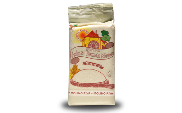 """קמח תירס לבן פולנטה ברמטה 1 ק""""ג"""