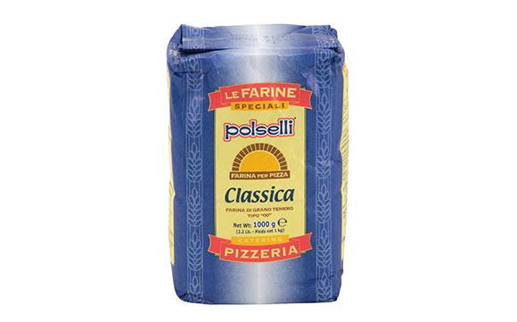 """קמח חיטה רך 1 ק""""ג CLASSICA – פיצה 00- ת.בינונית"""