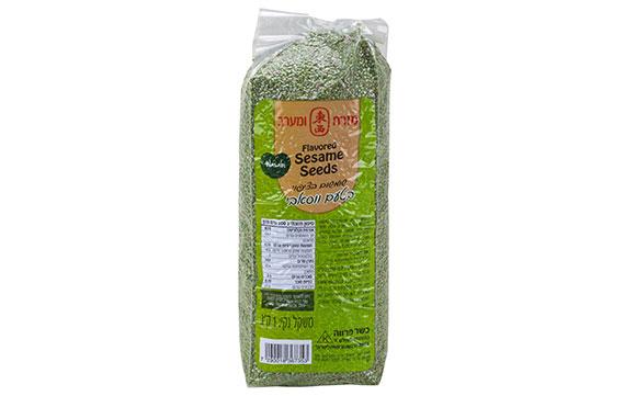 Flavored sesame seeds Wasabi 1kg*12/ctn