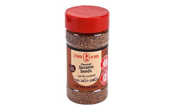 Flavored sesame seeds Soy Sauce 100g*24/ctn